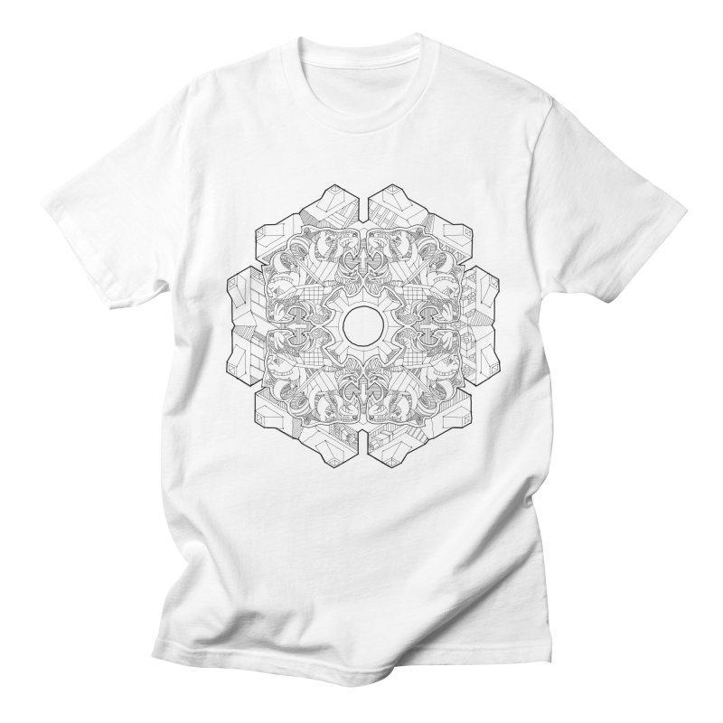 Flor Felina Men's T-shirt by IVAN CASIS APPAREL SHOP