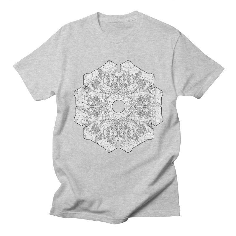 Flor Felina Men's Regular T-Shirt by IVAN CASIS APPAREL SHOP