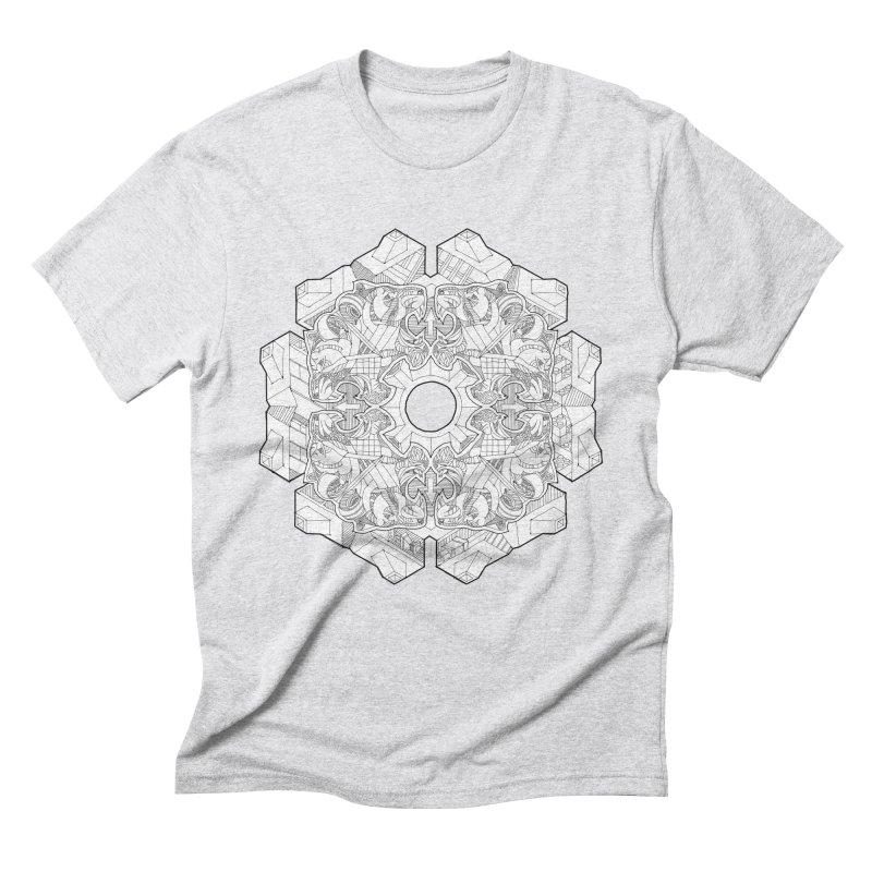 Flor Felina Men's Triblend T-Shirt by IVAN CASIS APPAREL SHOP