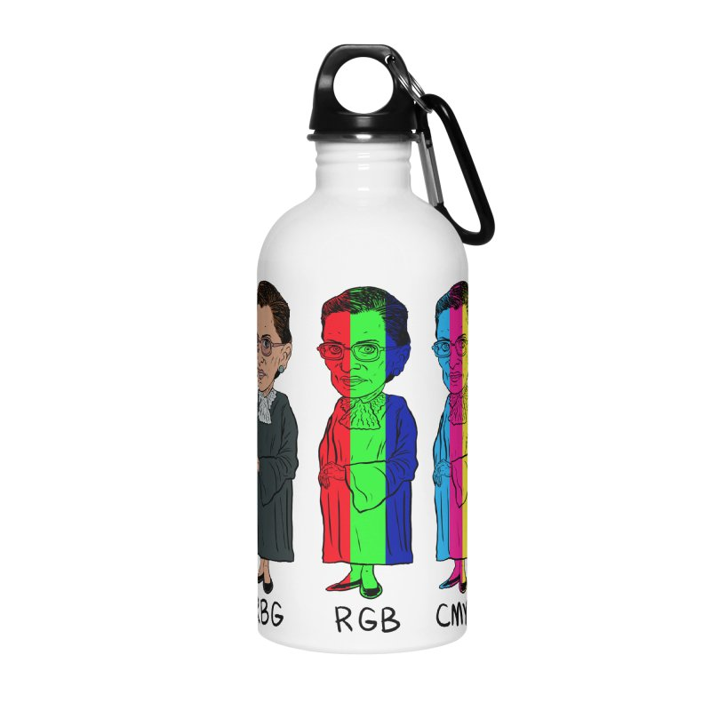 RBG RGB CMYK Accessories Water Bottle by Ivan Ehlers' Artist Shop