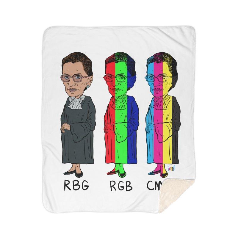 RBG RGB CMYK Home Sherpa Blanket Blanket by Ivan Ehlers' Artist Shop