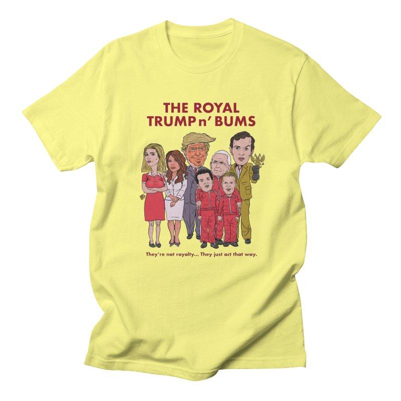 The Royal TRUMP n' BUMS Men's T-Shirt by Ivan Ehlers' Artist Shop