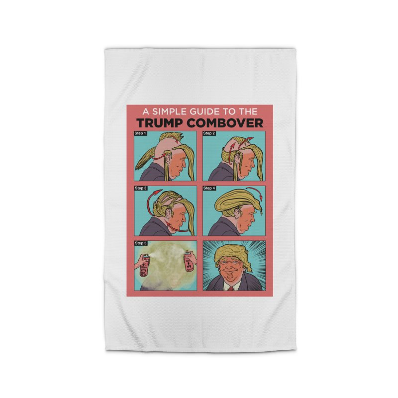 A SIMPLE GUIDE TO THE TRUMP COMBOVER Home Rug by Ivan Ehlers' Artist Shop