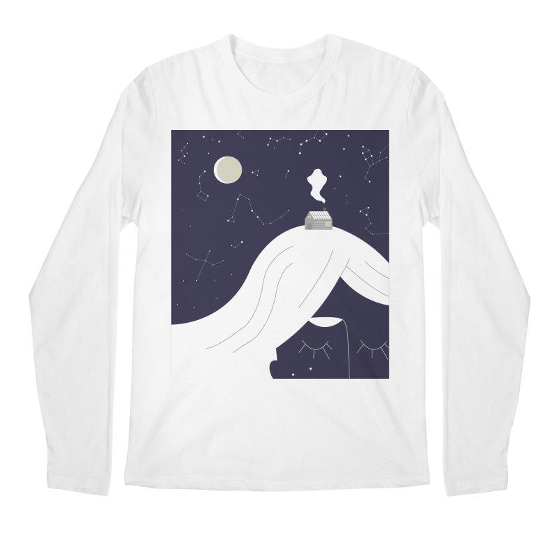 Home Men's Regular Longsleeve T-Shirt by ivvch's Artist Shop