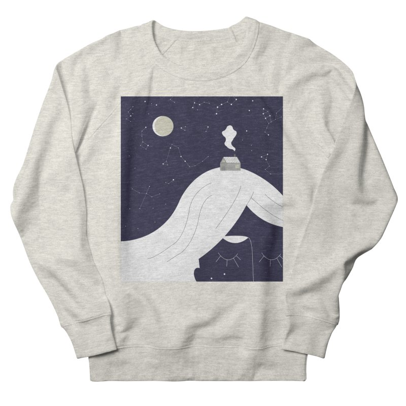 Home Men's French Terry Sweatshirt by ivvch's Artist Shop