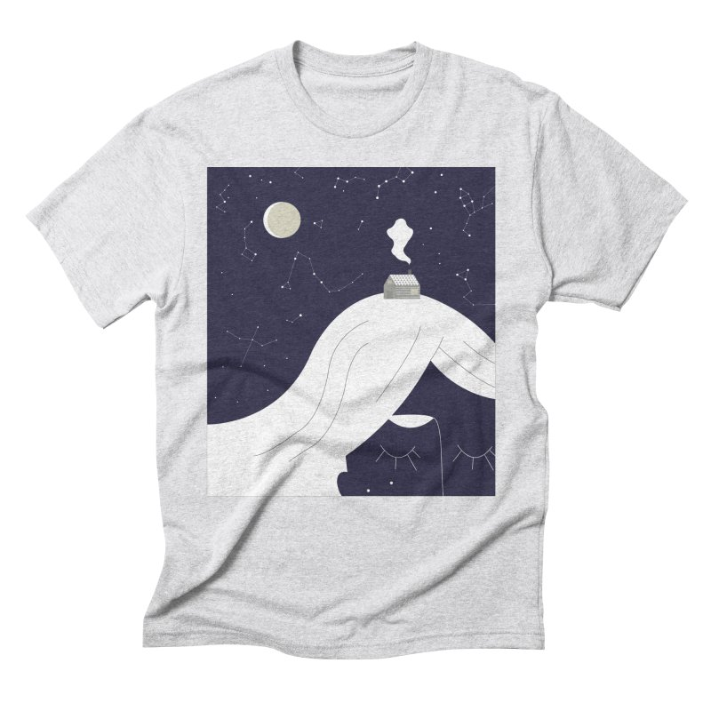 Home Men's Triblend T-Shirt by ivvch's Artist Shop