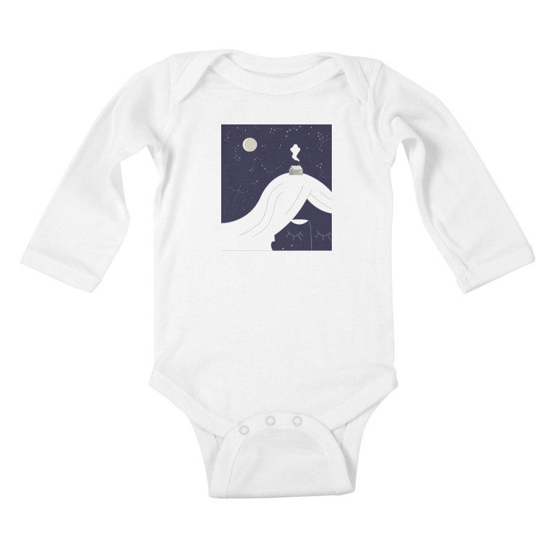 Home Kids Baby Longsleeve Bodysuit by ivvch's Artist Shop
