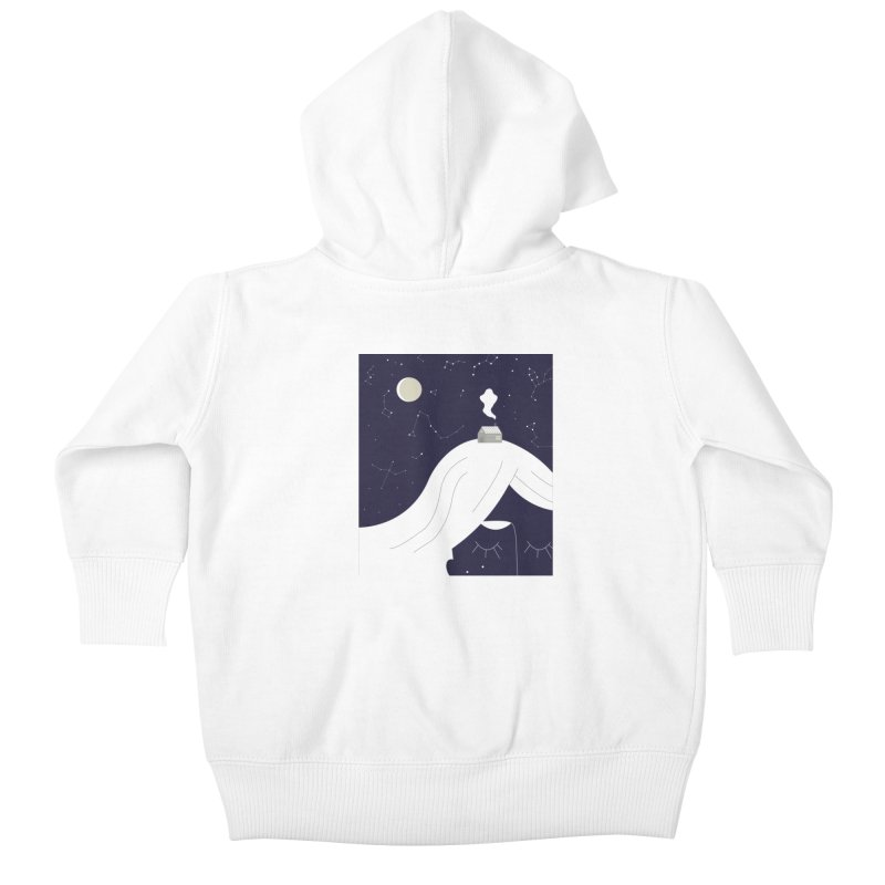 Home Kids Baby Zip-Up Hoody by ivvch's Artist Shop