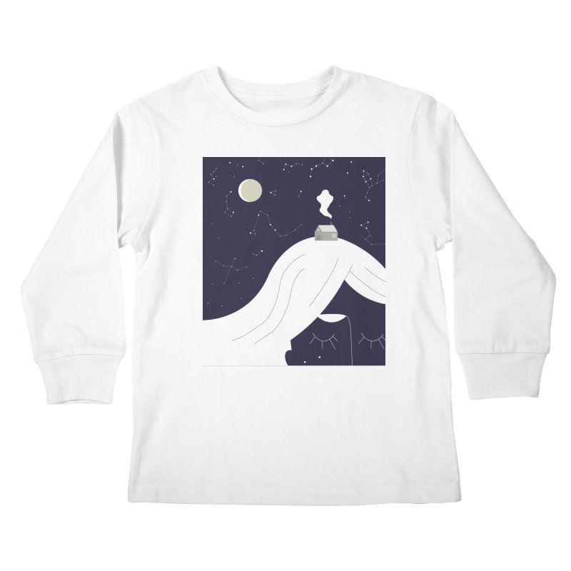 Home Kids Longsleeve T-Shirt by ivvch's Artist Shop