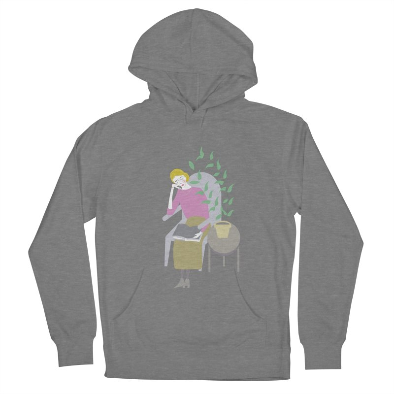 Depression Cherry Men's French Terry Pullover Hoody by ivvch's Artist Shop