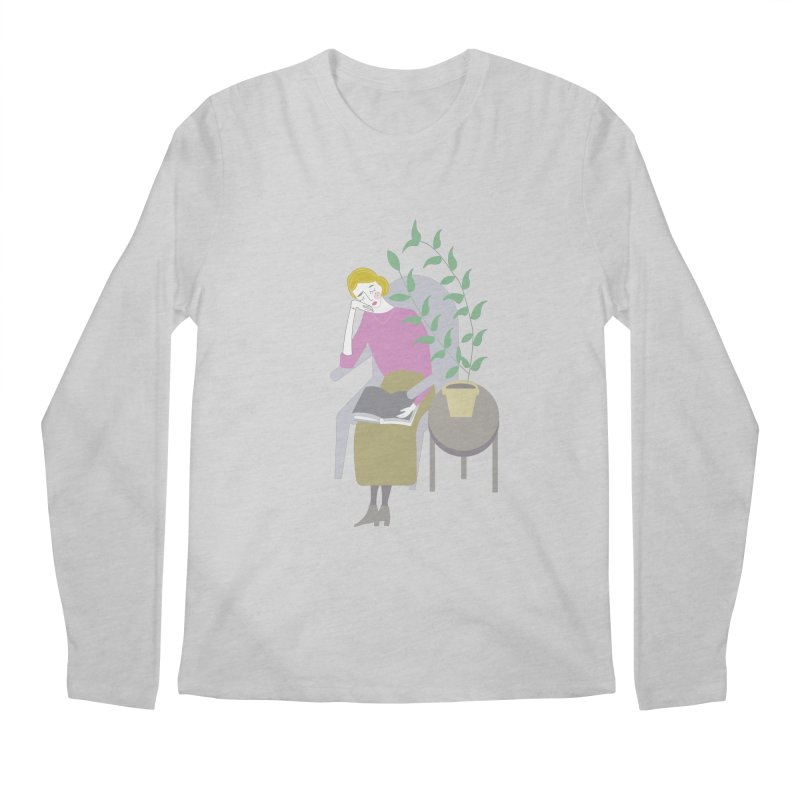 Depression Cherry Men's Longsleeve T-Shirt by ivvch's Artist Shop