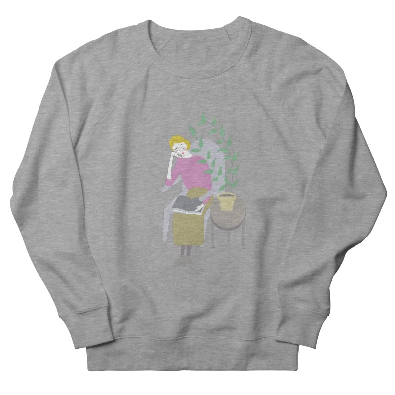 Depression Cherry Women's French Terry Sweatshirt by ivvch's Artist Shop