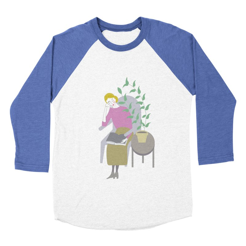 Depression Cherry Women's Baseball Triblend T-Shirt by ivvch's Artist Shop