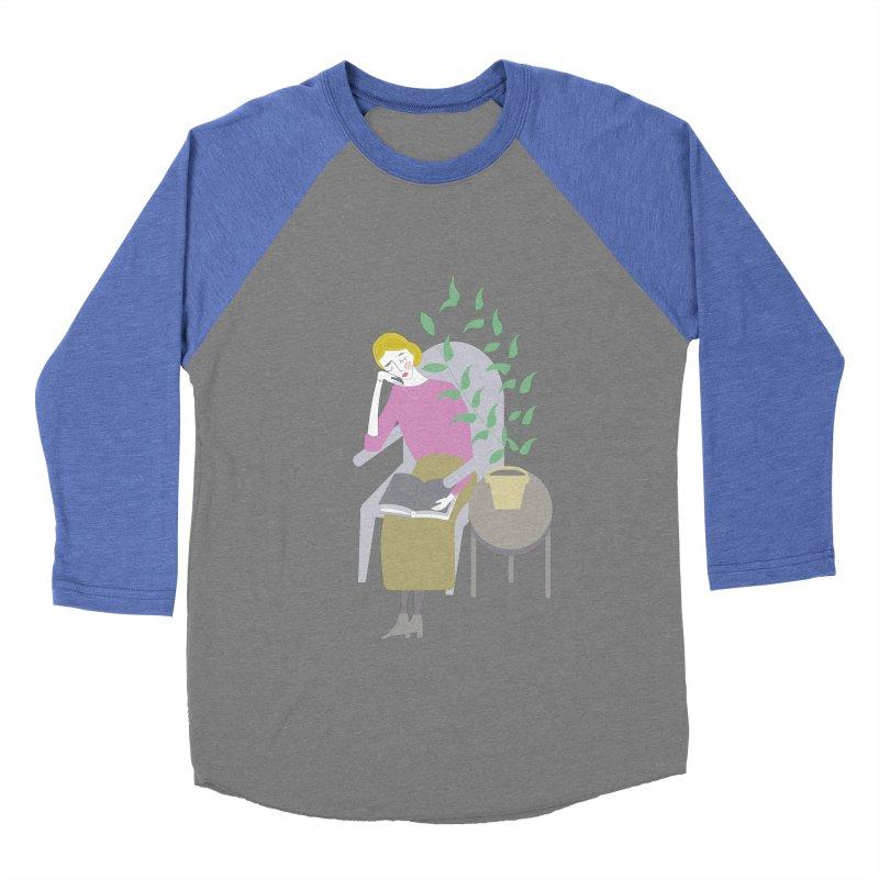 Depression Cherry Women's Baseball Triblend Longsleeve T-Shirt by ivvch's Artist Shop