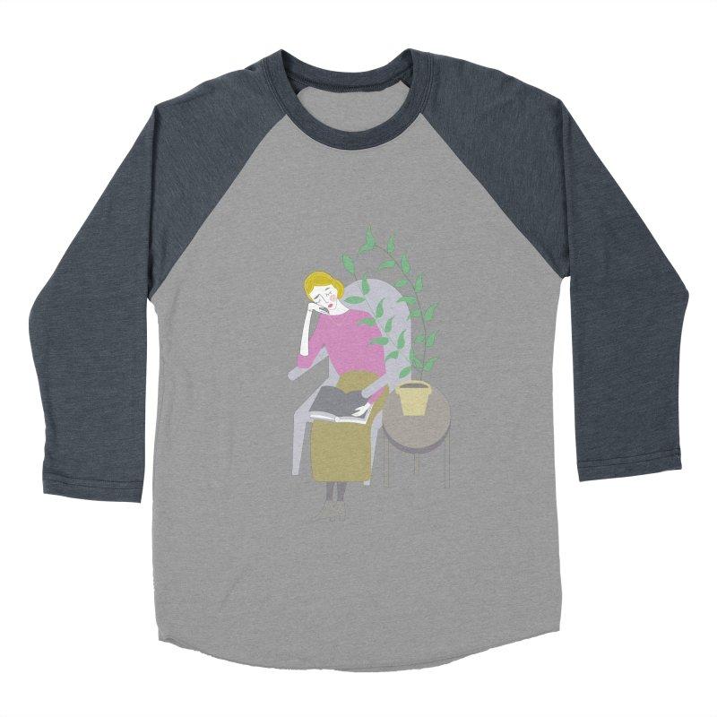 Depression Cherry Men's Baseball Triblend Longsleeve T-Shirt by ivvch's Artist Shop