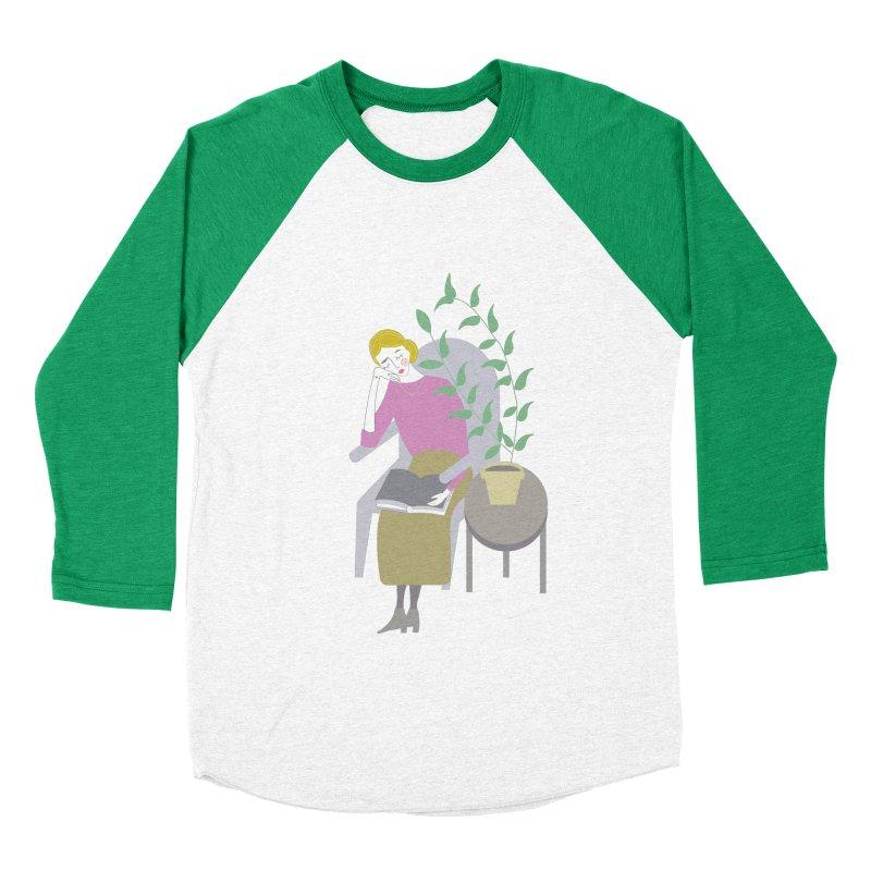 Depression Cherry Men's Baseball Triblend T-Shirt by ivvch's Artist Shop