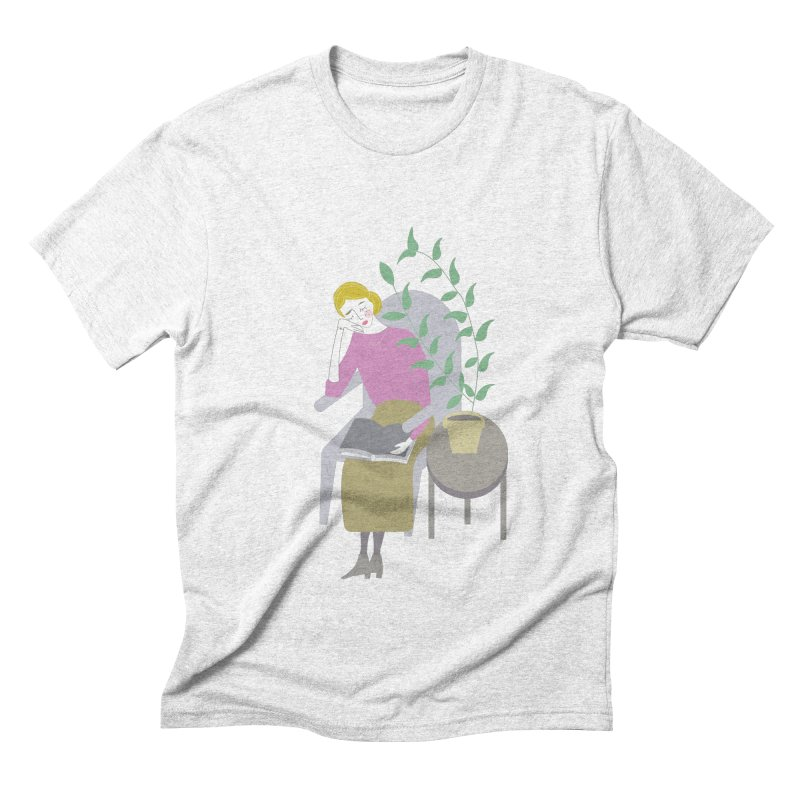 Depression Cherry Men's Triblend T-shirt by ivvch's Artist Shop