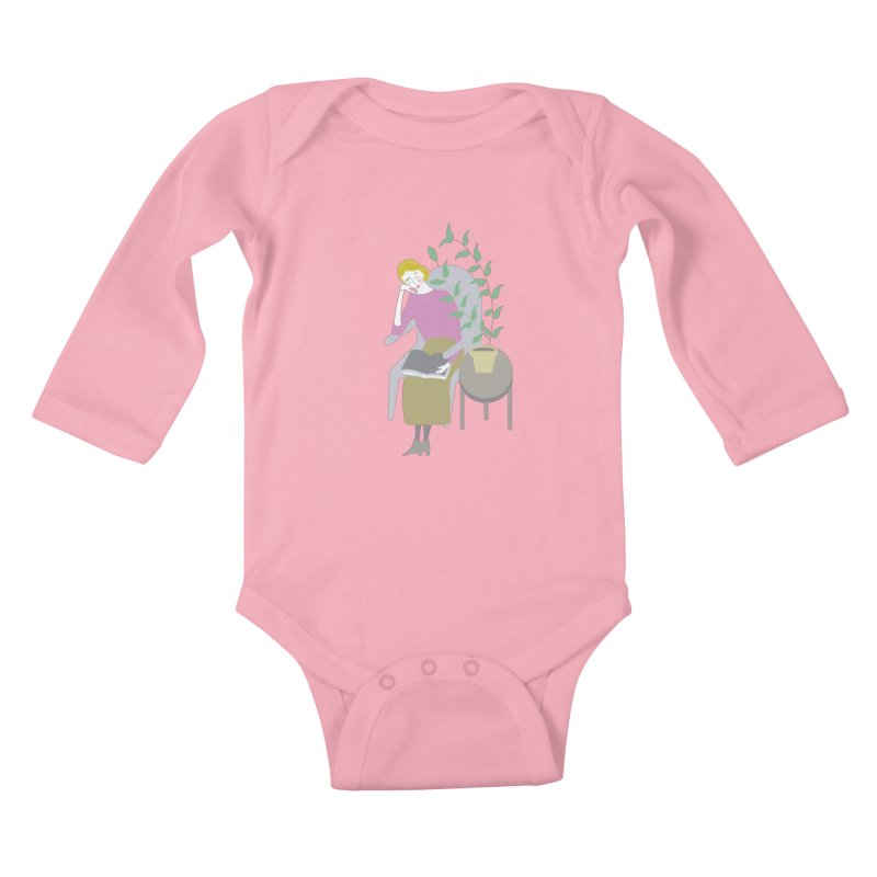 Depression Cherry Kids Baby Longsleeve Bodysuit by ivvch's Artist Shop