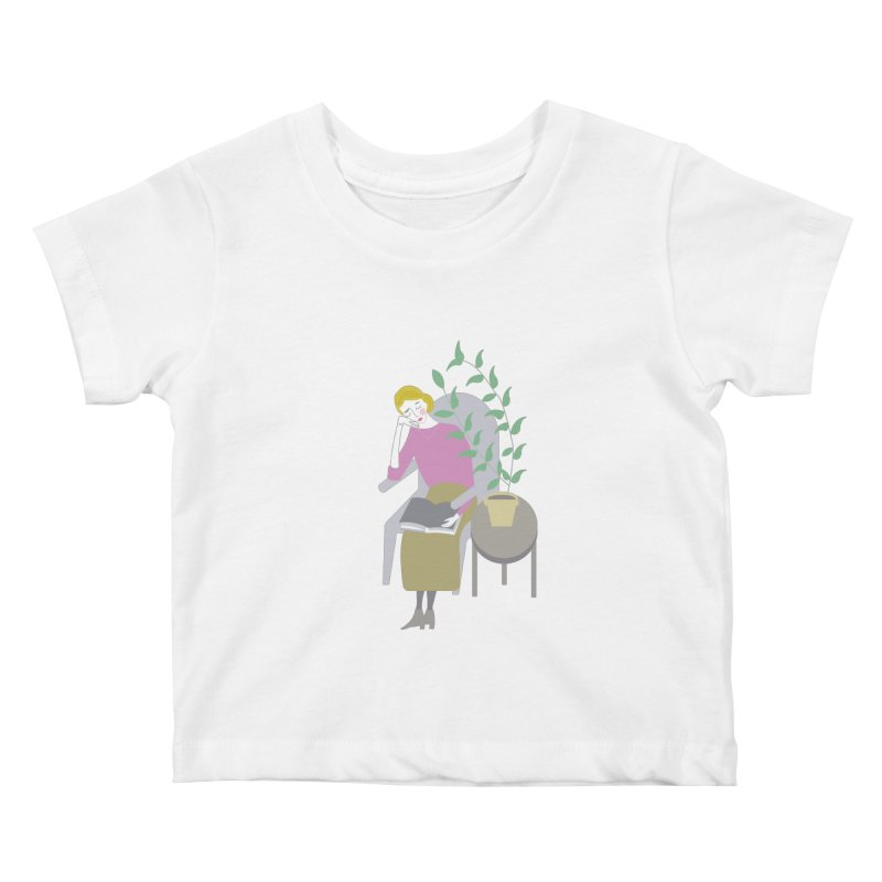 Depression Cherry Kids Baby T-Shirt by ivvch's Artist Shop