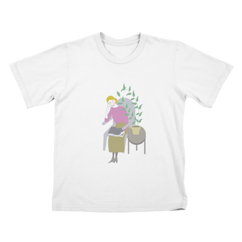 Depression Cherry Kids T-Shirt by ivvch's Artist Shop