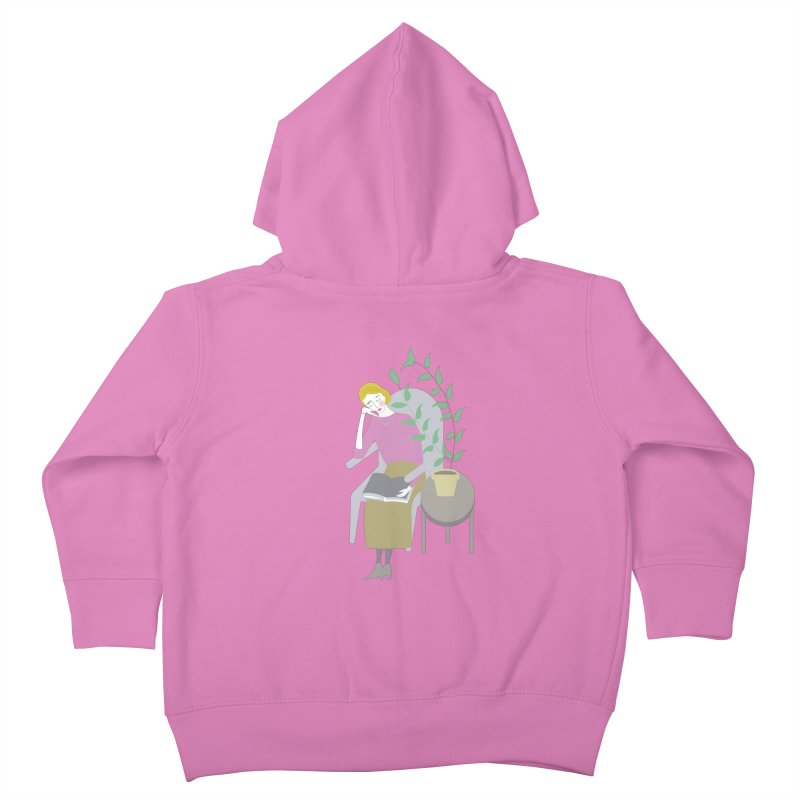 Depression Cherry Kids Toddler Zip-Up Hoody by ivvch's Artist Shop