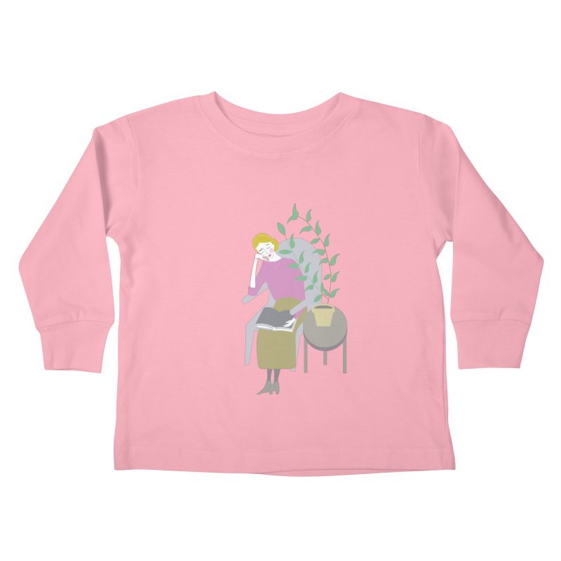 Depression Cherry Kids Toddler Longsleeve T-Shirt by ivvch's Artist Shop