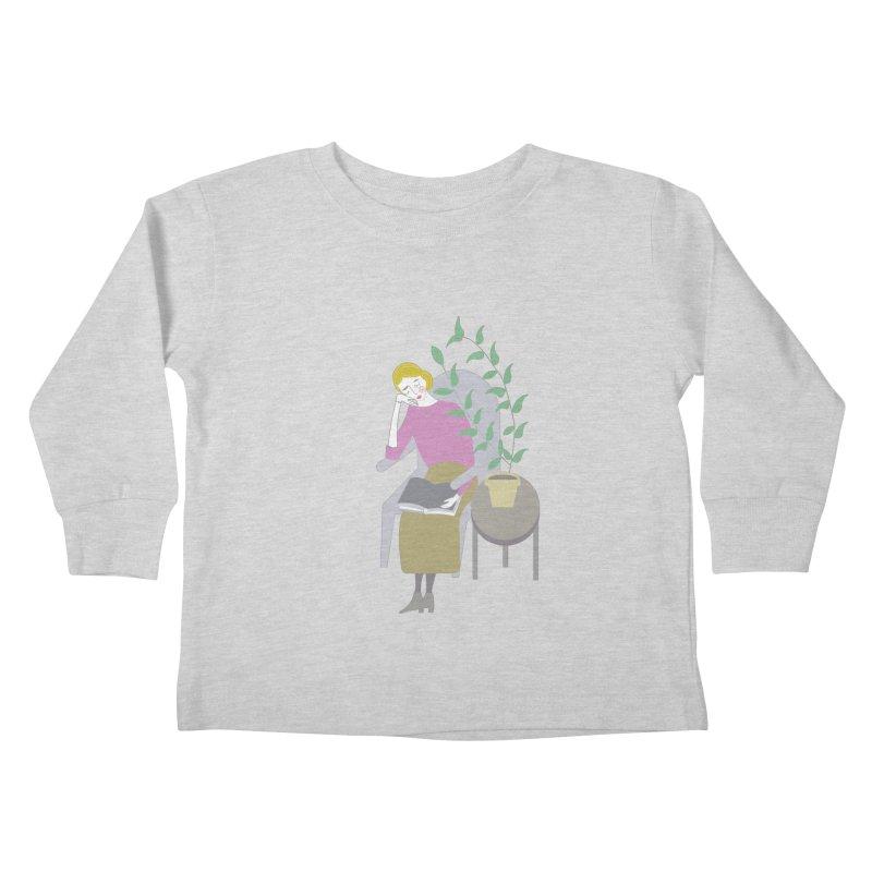 Depression Cherry Kids Toddler Longsleeve T-Shirt by ivvch's Artist Shop