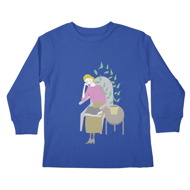 Depression Cherry Kids Longsleeve T-Shirt by ivvch's Artist Shop