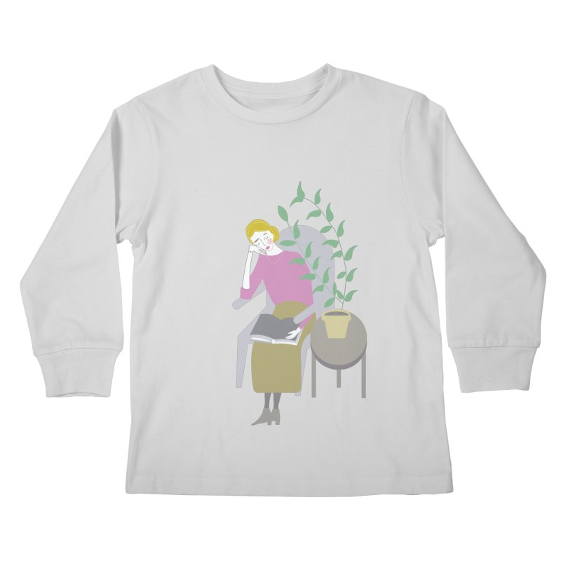 Depression Cherry Kids Longsleeve T-Shirt by ivvch's Artist Shop