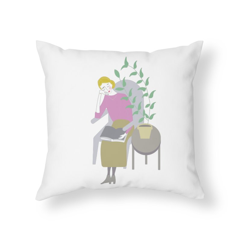 Depression Cherry Home Throw Pillow by ivvch's Artist Shop
