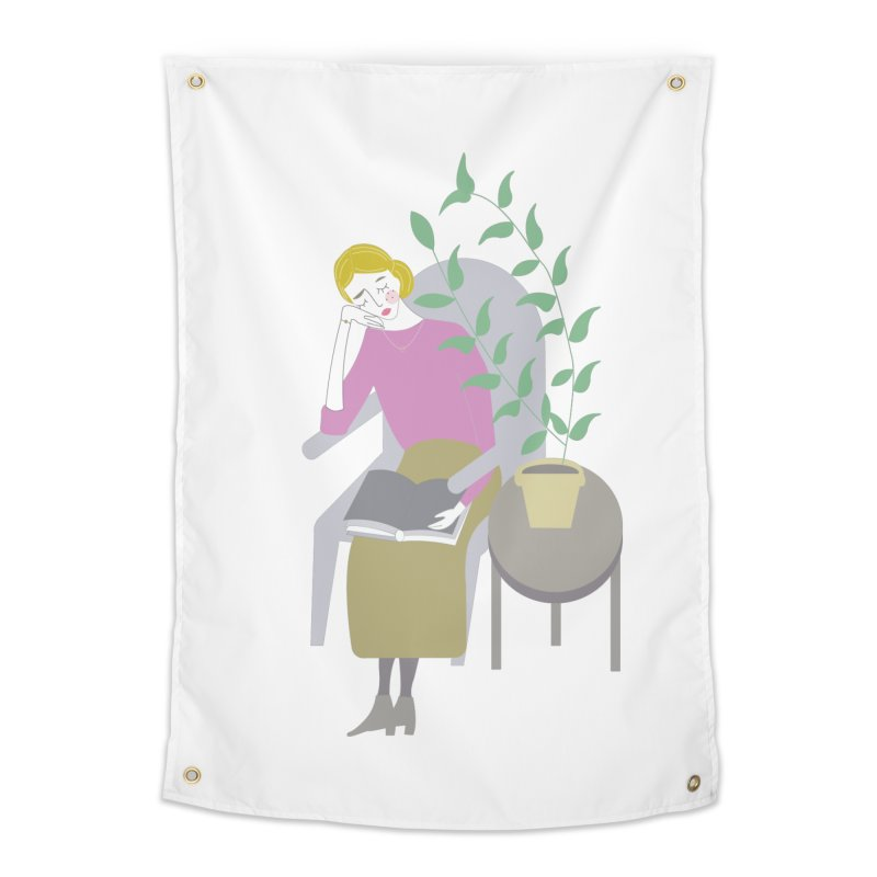 Depression Cherry Home Tapestry by ivvch's Artist Shop