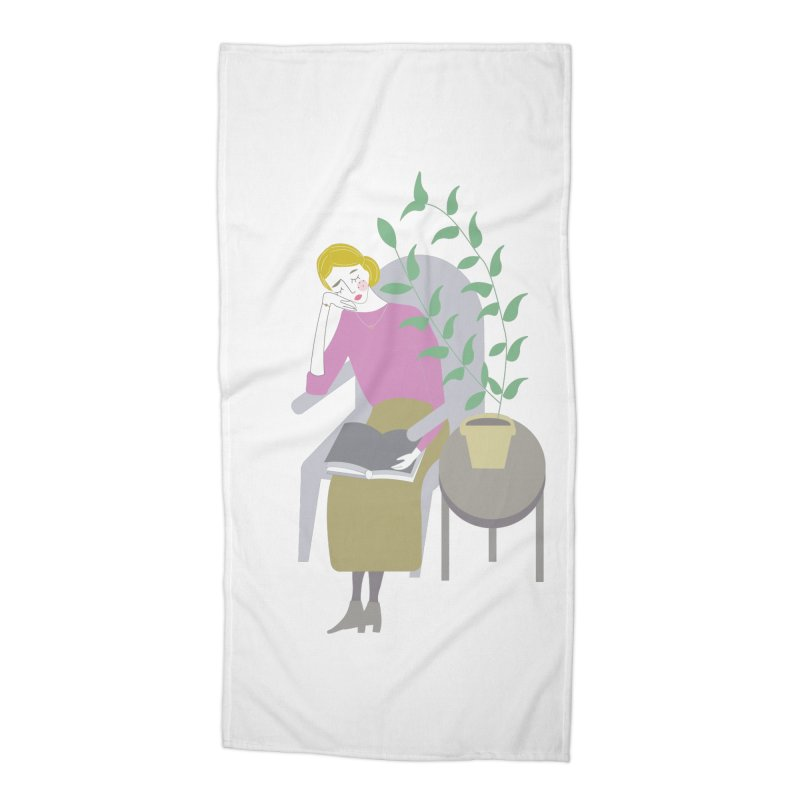 Depression Cherry Accessories Beach Towel by ivvch's Artist Shop