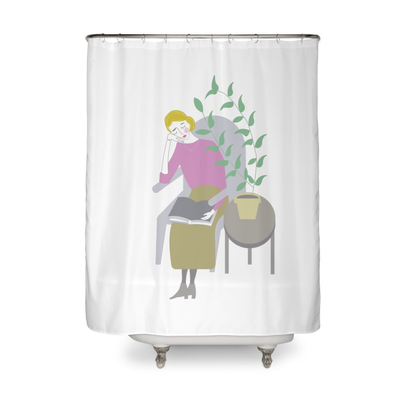 Depression Cherry Home Shower Curtain by ivvch's Artist Shop