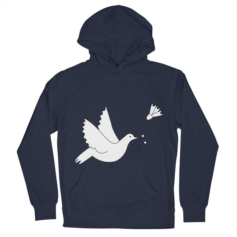 Bird Women's French Terry Pullover Hoody by ivvch's Artist Shop