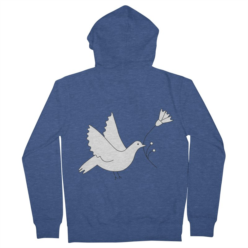 Bird Men's Zip-Up Hoody by ivvch's Artist Shop