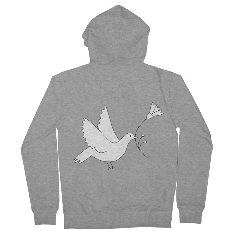 Bird Men's Zip-Up Hoody by ivvch's Artist Shop