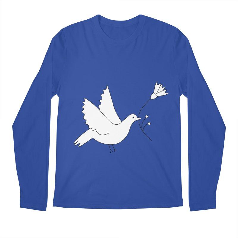 Bird Men's Longsleeve T-Shirt by ivvch's Artist Shop