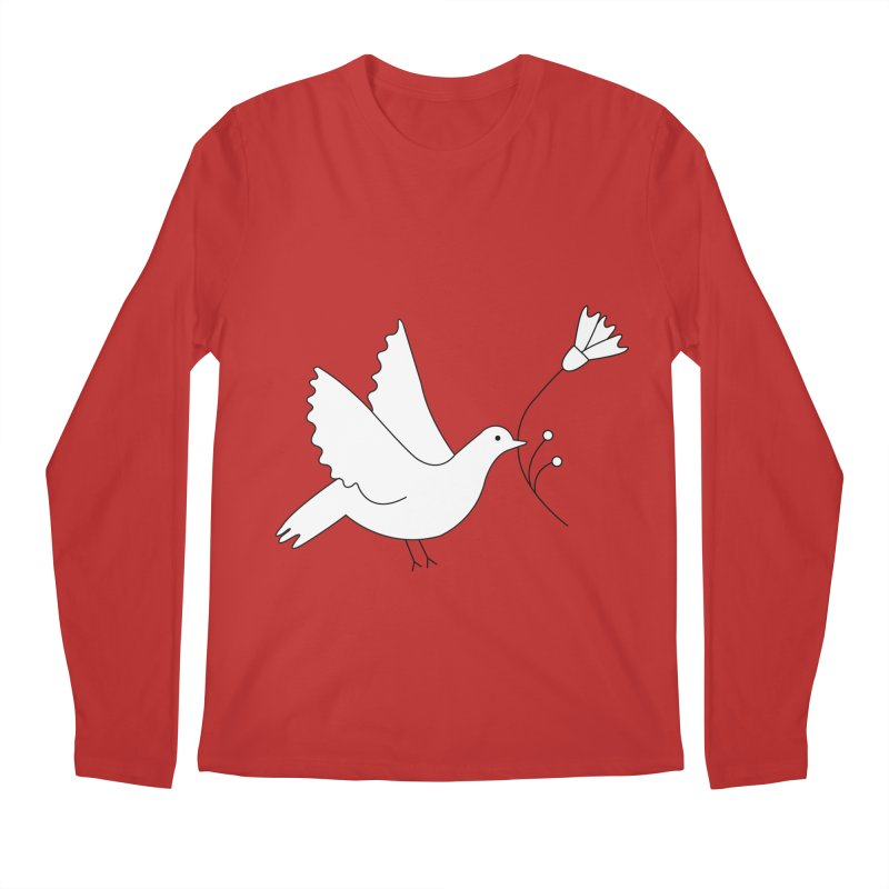 Bird Men's Regular Longsleeve T-Shirt by ivvch's Artist Shop