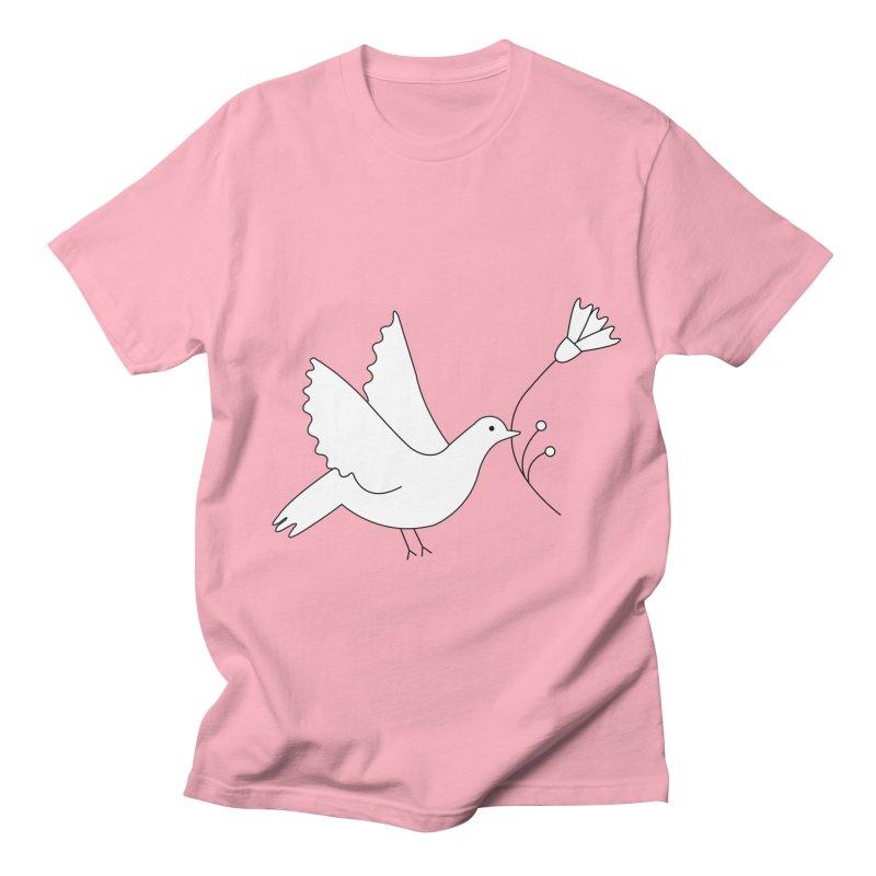 Bird Men's Regular T-Shirt by ivvch's Artist Shop
