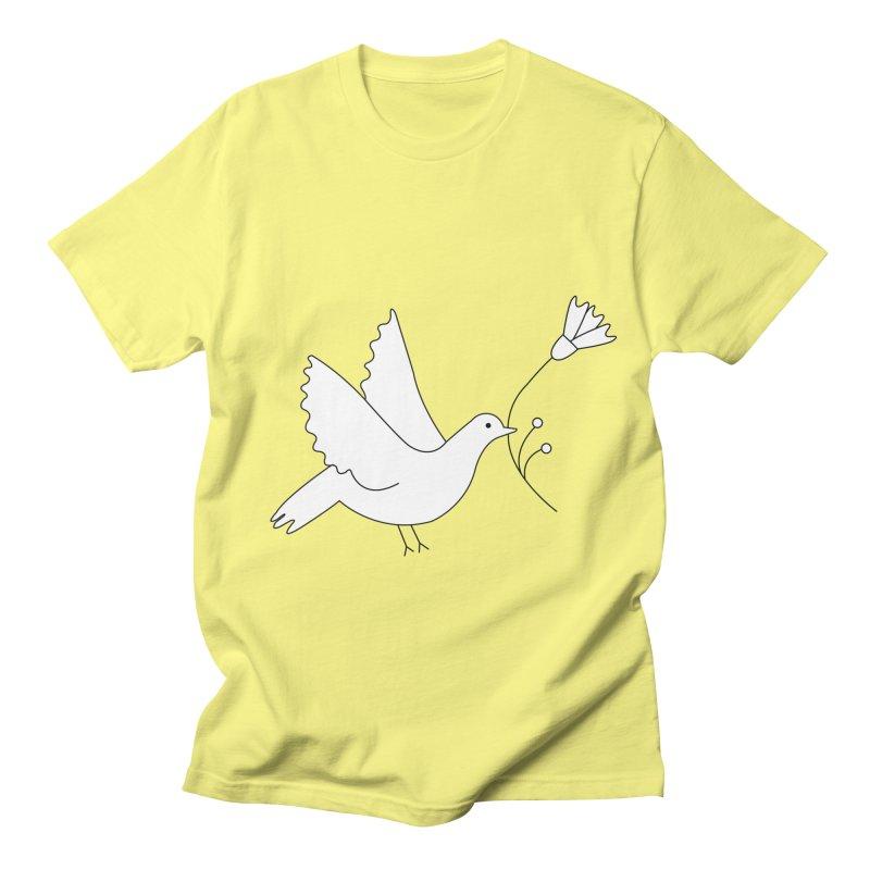 Bird Men's T-shirt by ivvch's Artist Shop