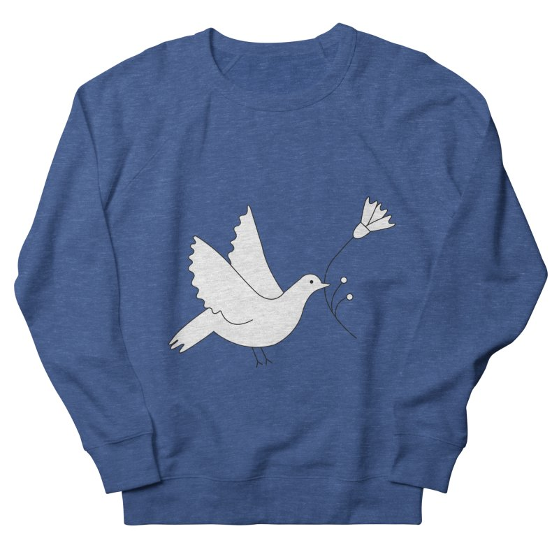 Bird Women's French Terry Sweatshirt by ivvch's Artist Shop