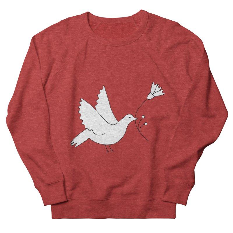 Bird Men's French Terry Sweatshirt by ivvch's Artist Shop