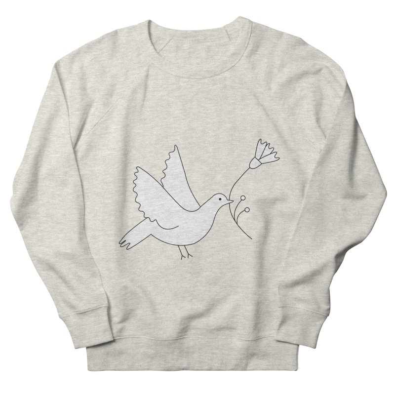Bird Men's French Terry Sweatshirt by ivvch's Artist Shop