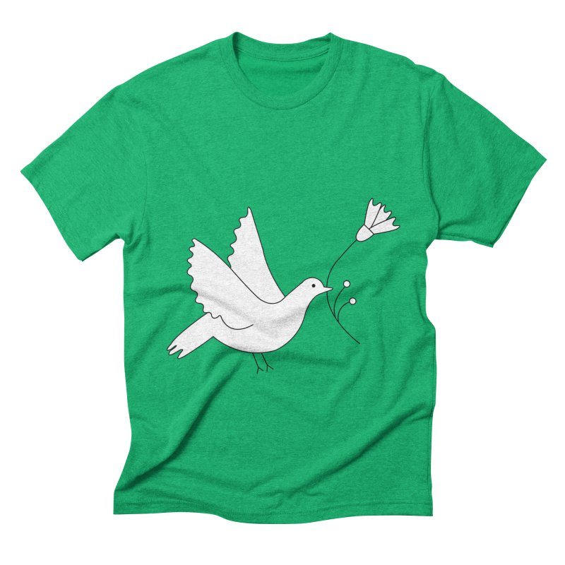 Bird Men's Triblend T-Shirt by ivvch's Artist Shop
