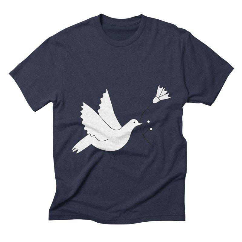 Bird Men's Triblend T-Shirt by ivvch's Artist Shop