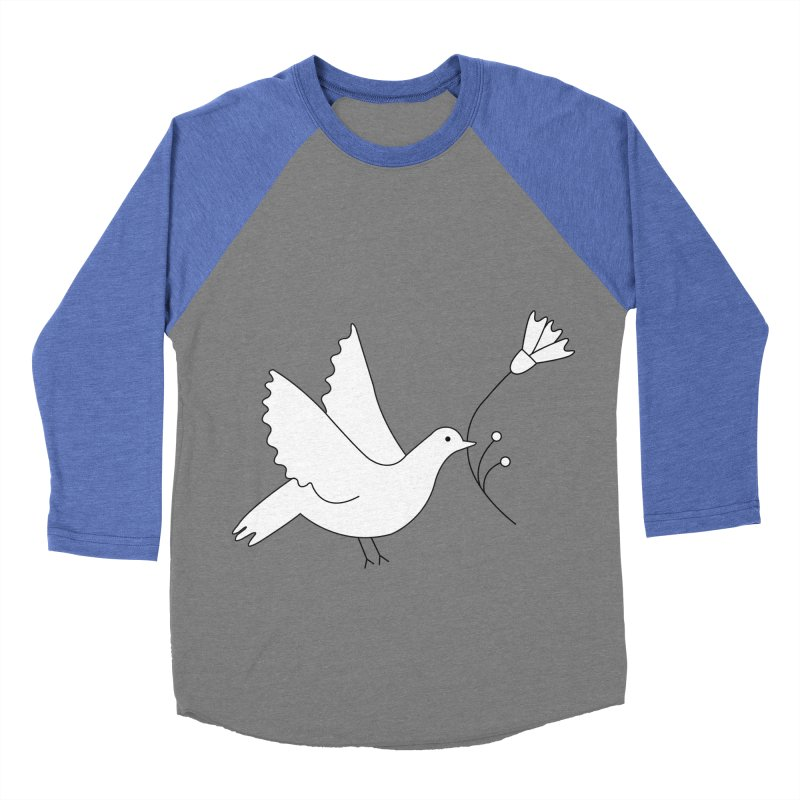 Bird Women's Baseball Triblend Longsleeve T-Shirt by ivvch's Artist Shop