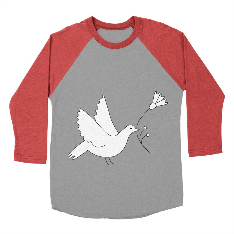 Bird Women's Baseball Triblend Longsleeve T-Shirt by ivvch's Artist Shop