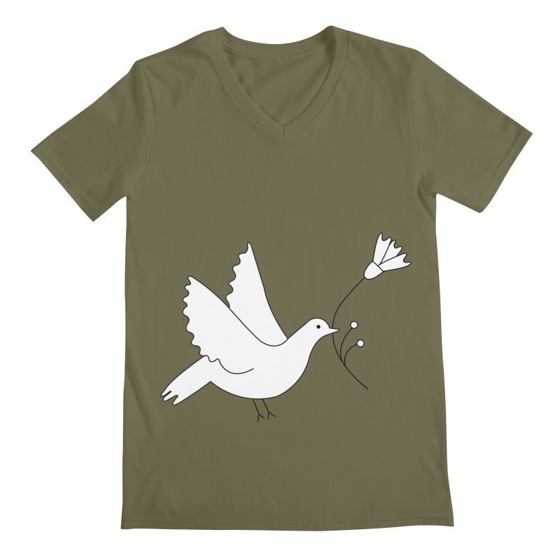Bird Men's V-Neck by ivvch's Artist Shop