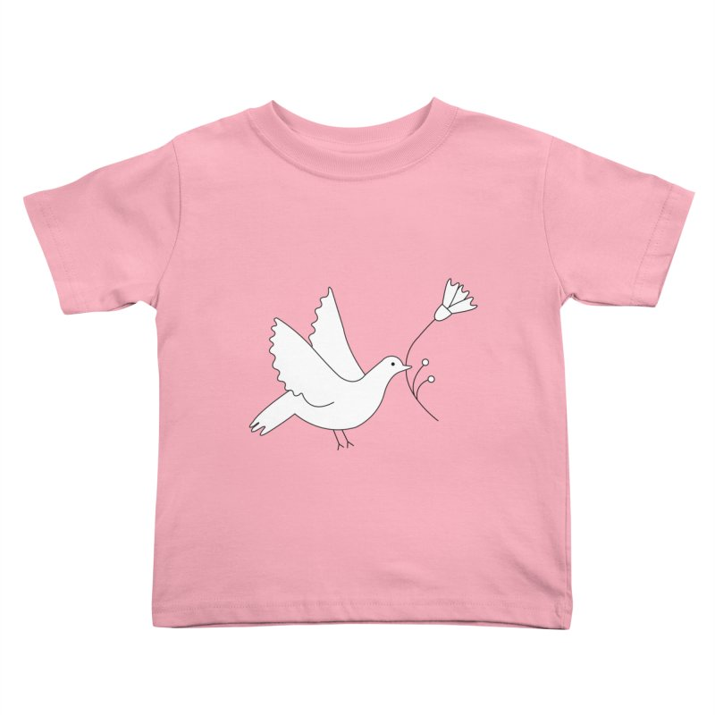 Bird Kids Toddler T-Shirt by ivvch's Artist Shop