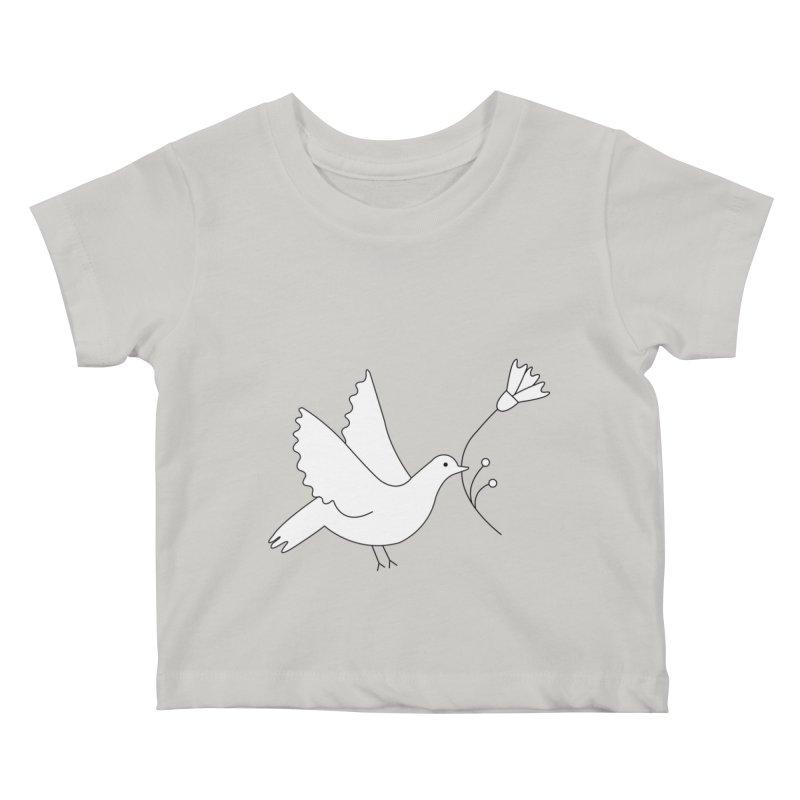 Bird Kids Baby T-Shirt by ivvch's Artist Shop